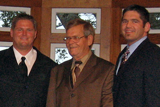 William Dabbs with his sons, Ducey and Brandon